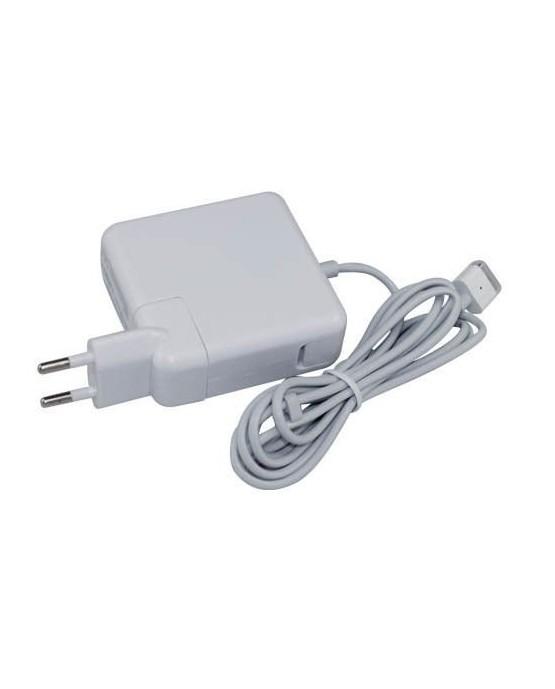 Digite T 60W carregador compatível para Apple Macbook | 16.5V - 3.65A | MagSafe