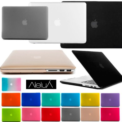 Carcasa protectora para portátil Macbook Pro, Macbook Air y Macbook Pro Retina