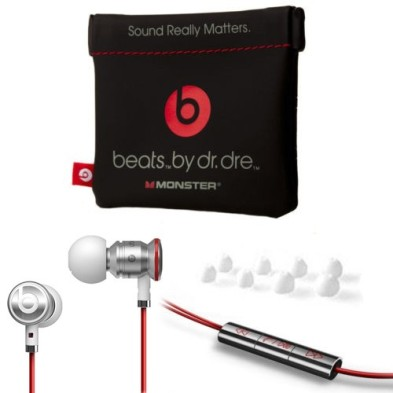 Authentic Monster Beats Headphones by Dr. Dre designed