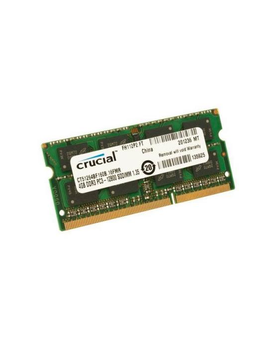 Crucial CT51264BF160BJ soDim 4GB DDR3 1600MHz SR