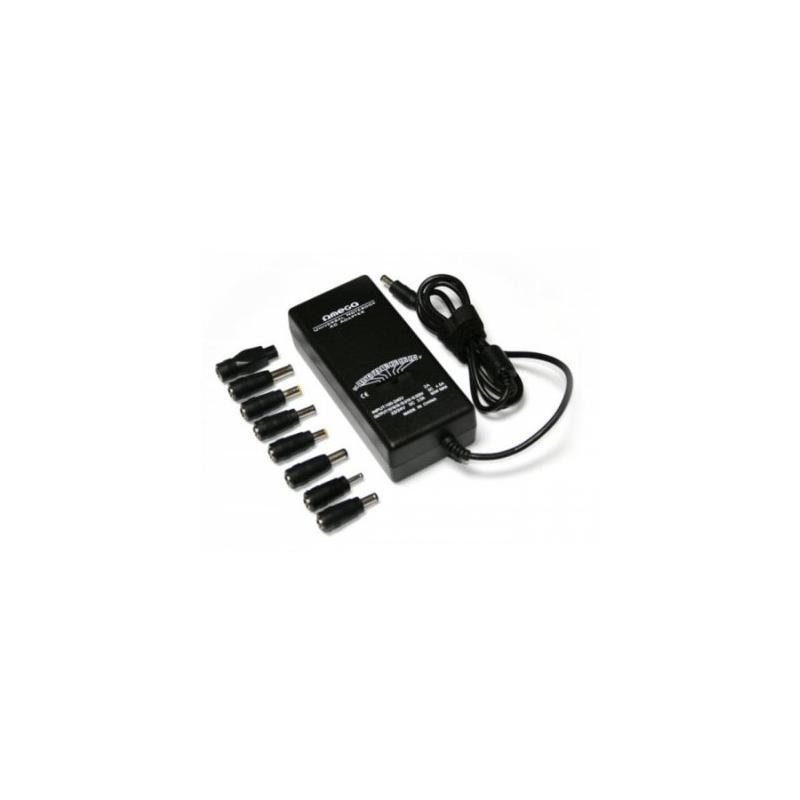 OMEGA Adaptador AC Universal 90w con 10 clavijas