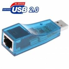 TARJETA DE RED USB 2.0 A RJ45 LAN ETHERNET
