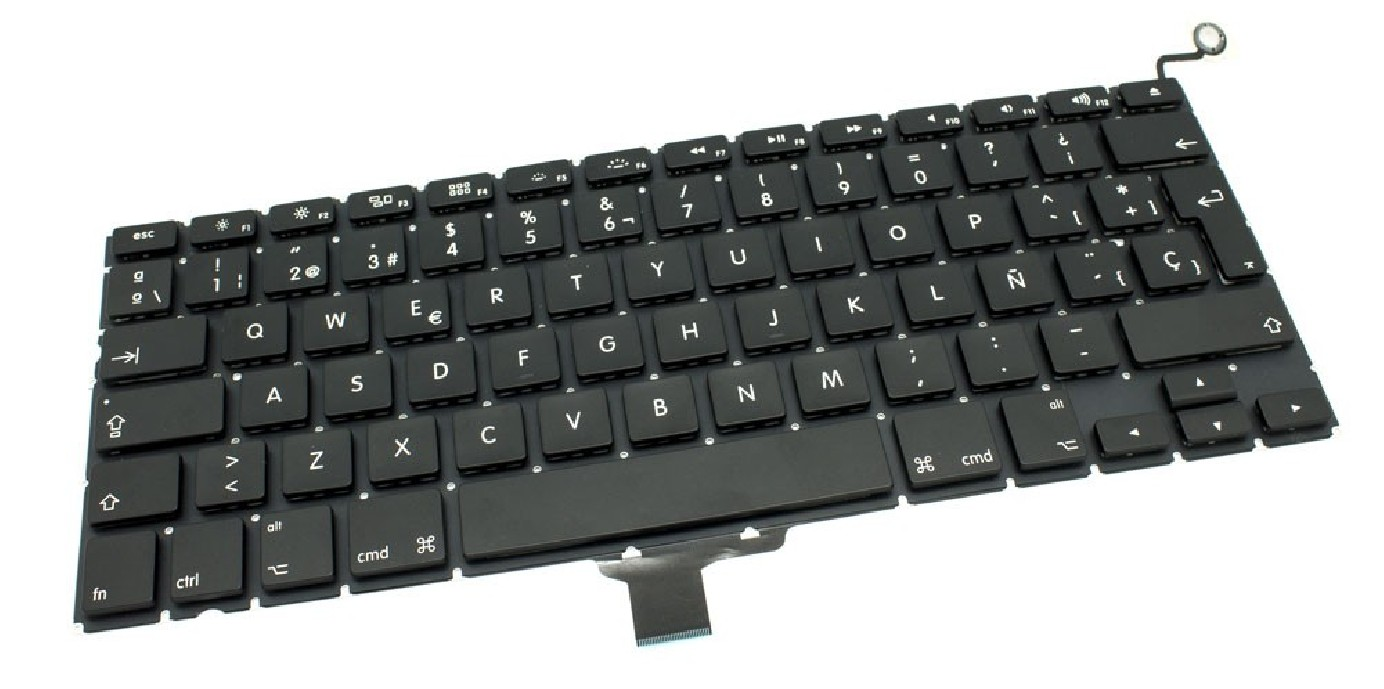Teclado para Macbook aluminium 2008