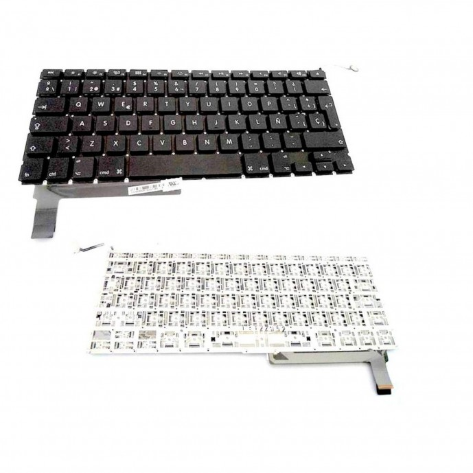 "TECLADO ESPAÑOL para Apple Macbook Pro 15"" A1286 2009 2010 2011"