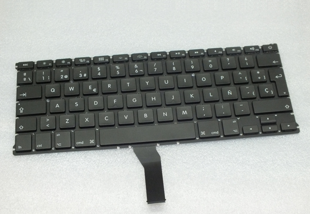 Spanish keyboard for Apple Macbook Air A1369 13""