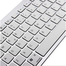 Teclado Bluetooh compatible para iMac, iPad, iPhone, TV, Tablet