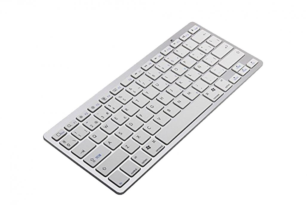 Teclado y ratón Bluetooh compatible para iMac, iPad, iPhone, TV, Tablet