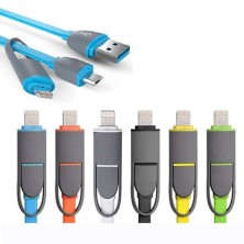 Cable para iPhone y Samsung convertible