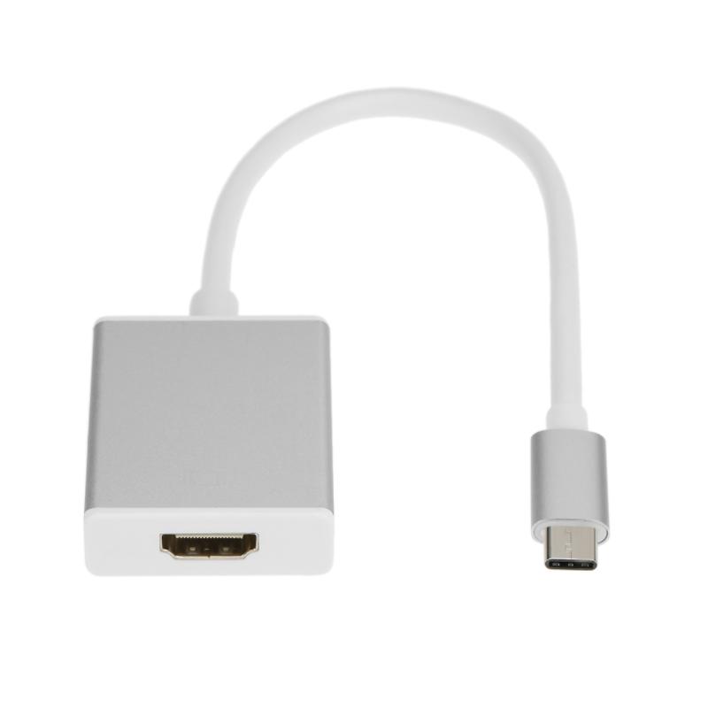 Connector USB Adaptador de Tipus C 1 per HDMI Macbook 12 Polzades