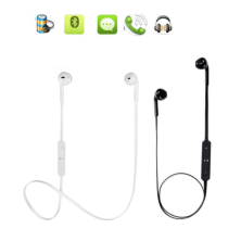 Fone de ouvido Bluetooth para actividades desportivas Cor Preto / Branco