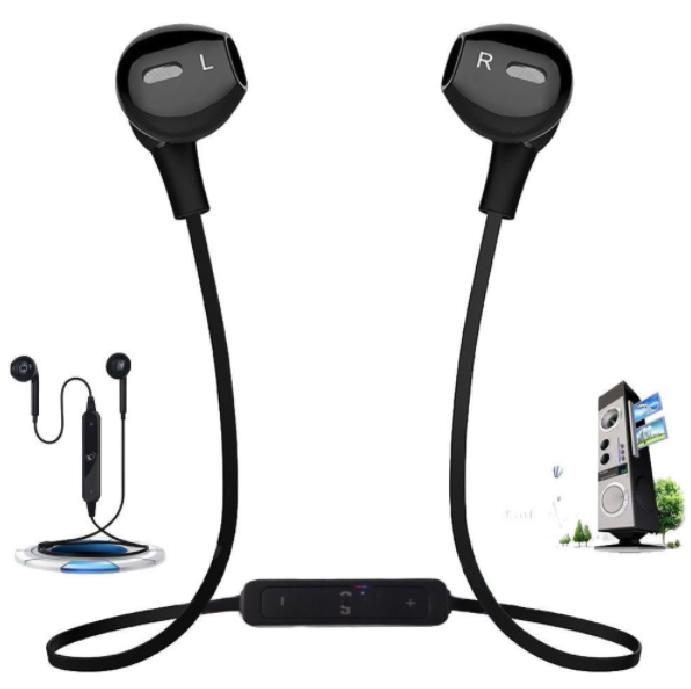 Auriculars Bluetooth per a activitats esportives color Negre / blanc