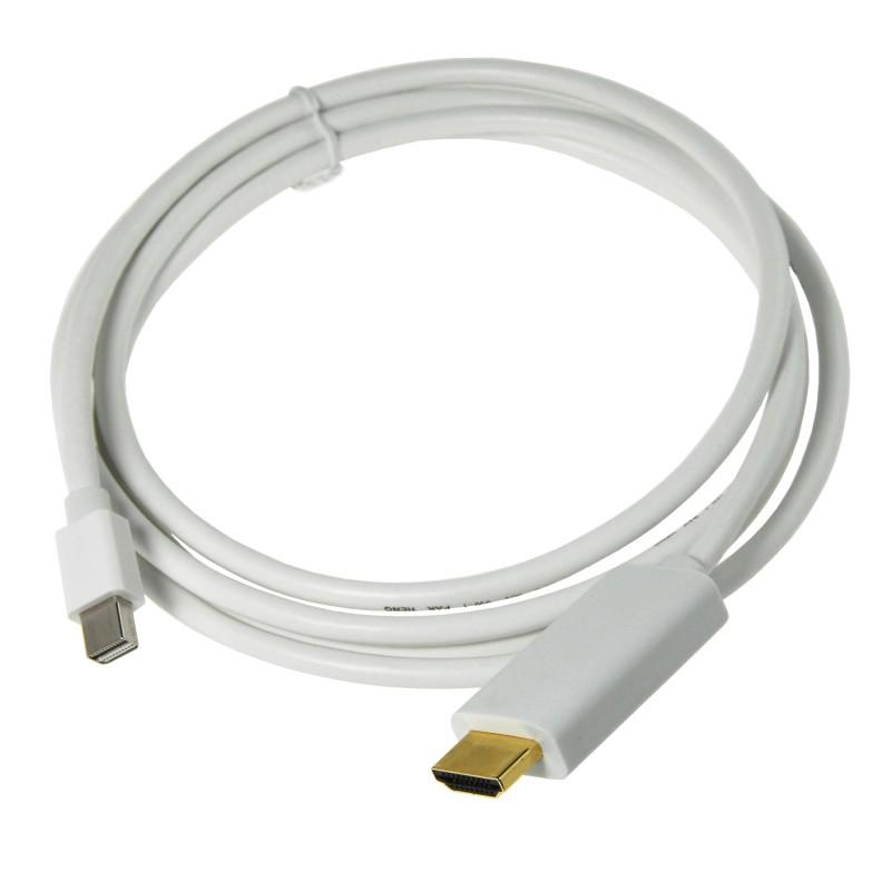 Cable MiniDisplayPort a HDMI para Macbook Pro y Macbook Air