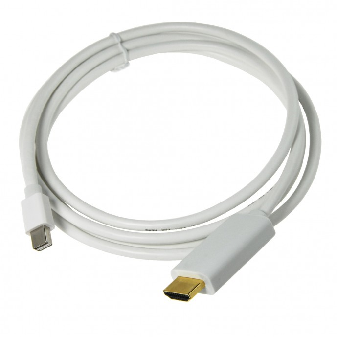 Cable Mini DisplayPort a HDMI para Macbook Pro y Macbook Air