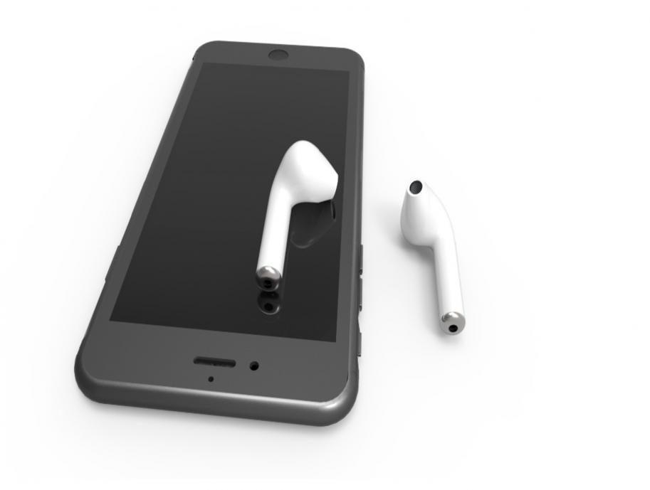 Auscultadores sem fio Bluetooh para iPhone, Samsung, Mac, MP3