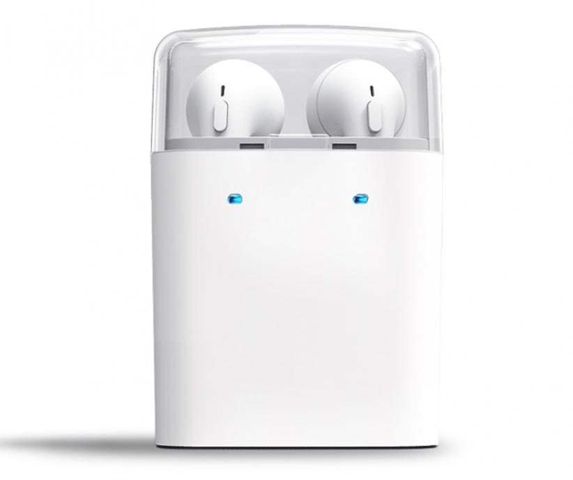 Mini fone de ouvido Bluetooth com caixa de carga