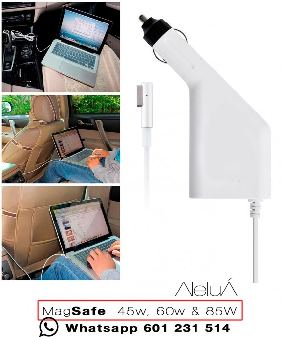 Cargador para coche Magsafe-1 para Macbook, Macboook Air y Macbook Pro