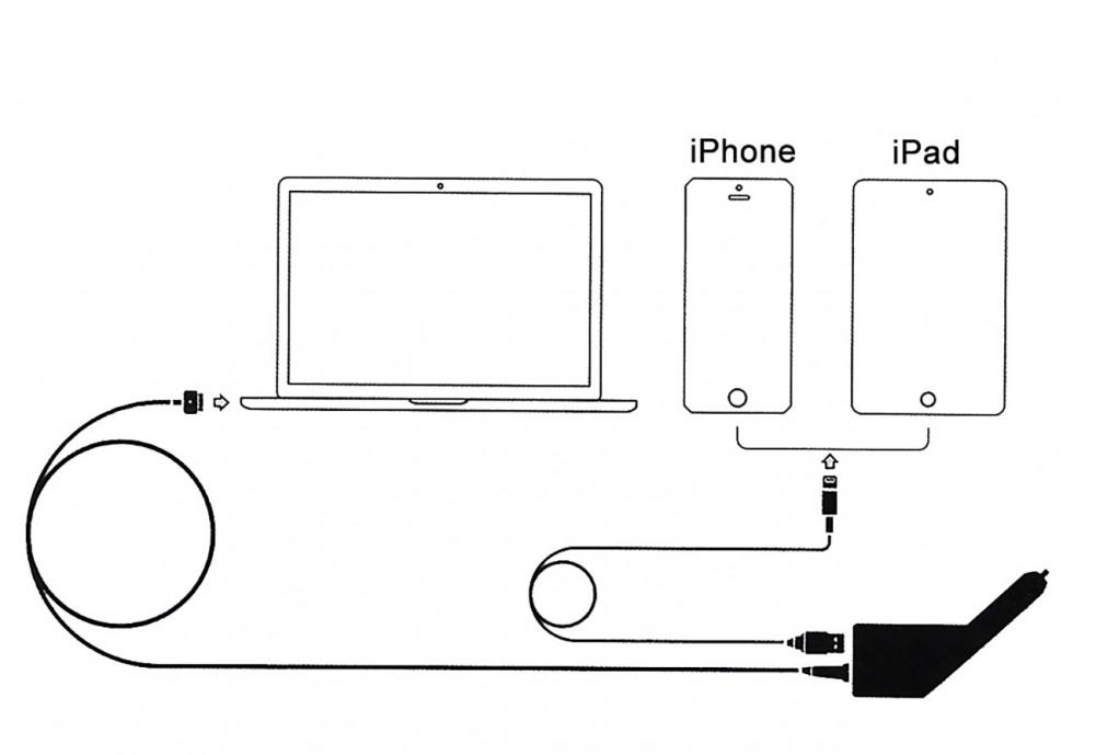Cargador para coche Magsafe-1 para Macbook, Macboook Air y Macbook Pro