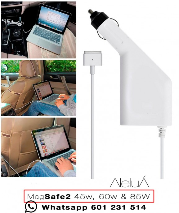 Magsafe-2 Car Charger for Macbook, Macboook Air and Macbook Pro