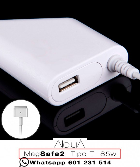 Cargador coche Magsafe-2 para Macboook Air y Macbook Pro Retina