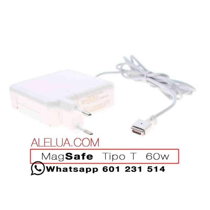 Typ T 60W Ladegerät kompatibel für Apple Macbook | 16,5V - 3.65A | MagSafe