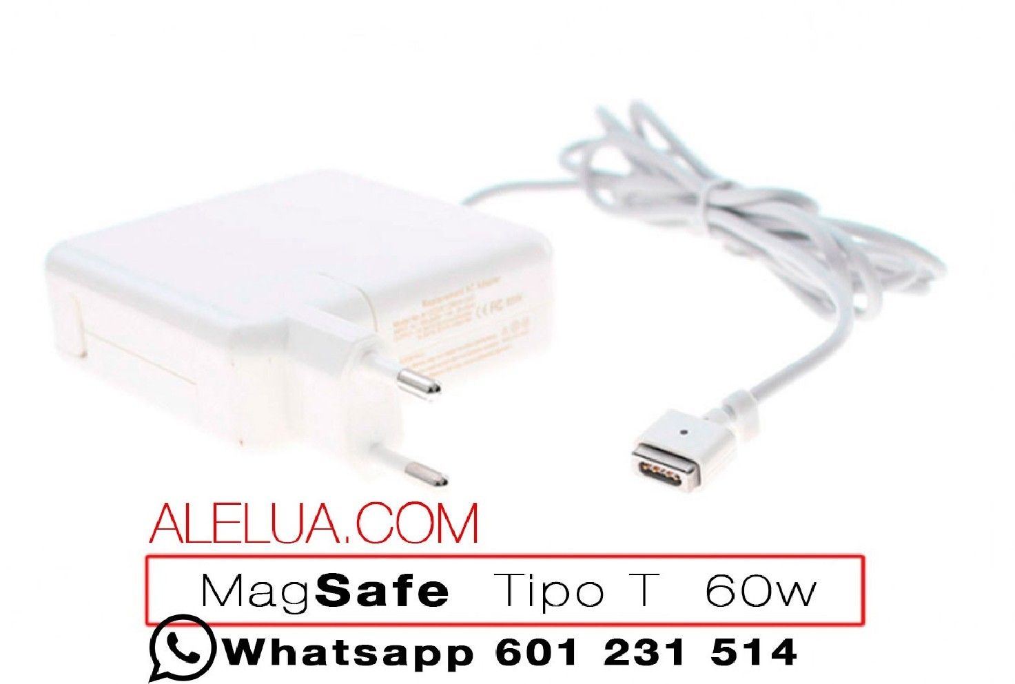 60w Type T Charger Compatible For Apple Macbook 16 5v