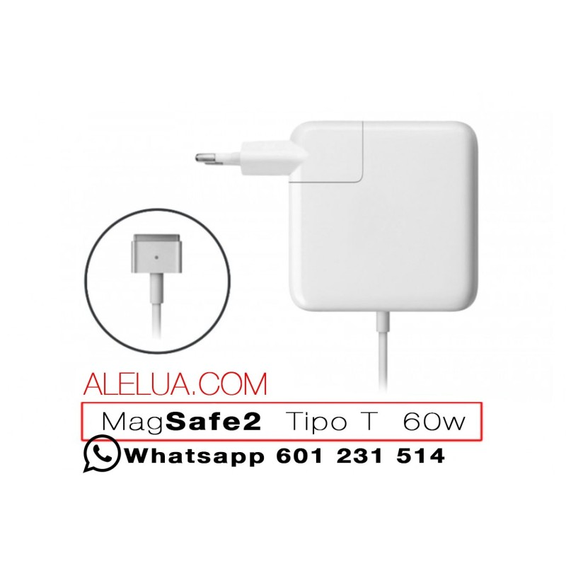 60W MagSafe 2 - Ladegerät kompatibel für Apple Macbook | 16,5V - 3.65A