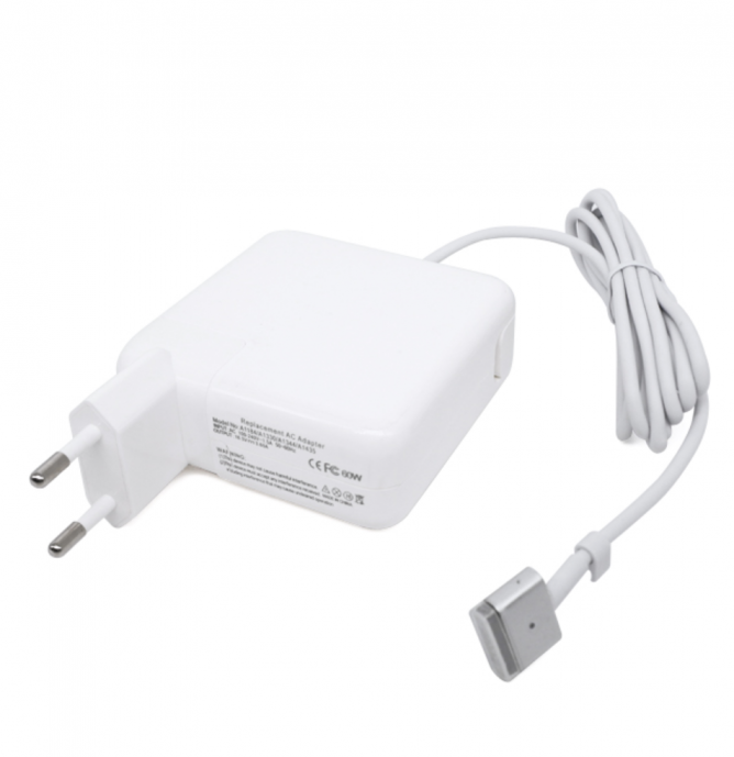 60W MagSafe 2 - Carregador Compatible per Apple Macbook | 16.5V - 3.65A