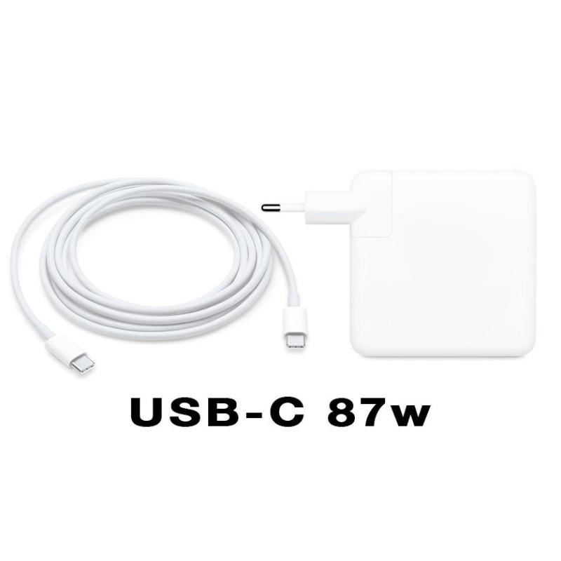 "Carregador USB Tipo-C 87w para Macbook Pro Retina 15 """