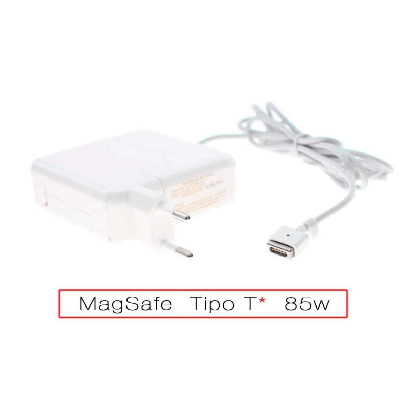 """Cargador para Macbook Pro 15"""" de 85w conector Magsafe-1"""