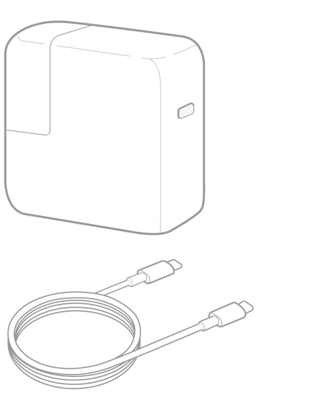 Cargador Tipo USB C para Macbook