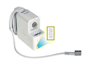 """Adaptador de corriente MagSafe de 45 W con conector en """"L"""""""