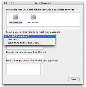 recuperar, reiniciar, cambiar, contraseña, OS X, Mac