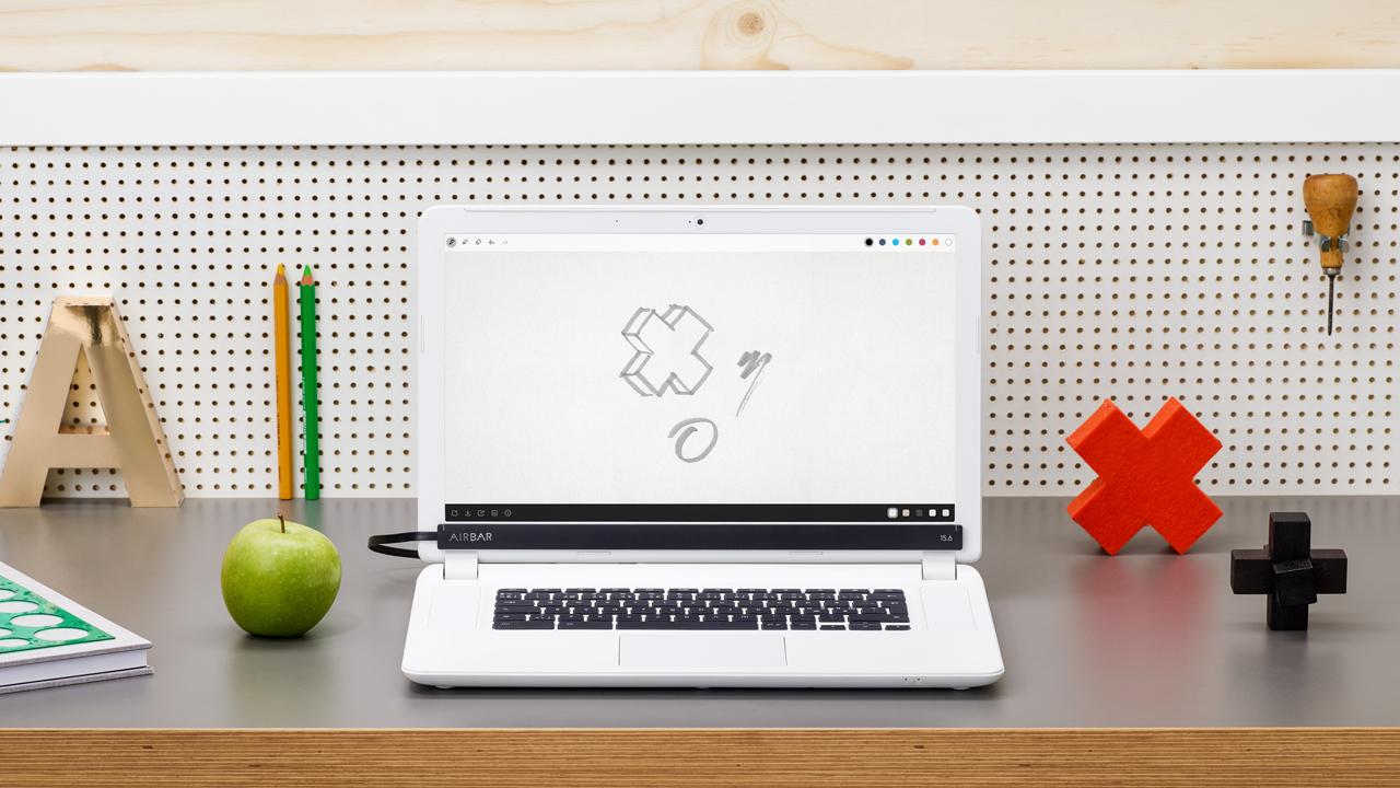 Pantalla táctil: convierte la pantalla de tu portátil en tácitl en segundos – AIRBAR