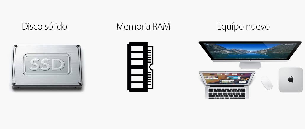 Duda eterna: ¿actualizar memoria RAM o disco SSD?