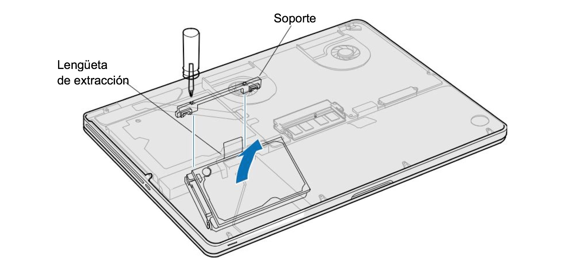 Pasos para sustituir o reemplazar el disco duro de tu Macbook Pro